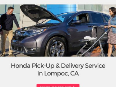 Obrazek Honda Pick-up and Delivery Service mobile